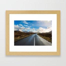 Road of Skye Framed Art Print