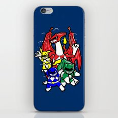 Might Morphing Poke'Rangers iPhone & iPod Skin
