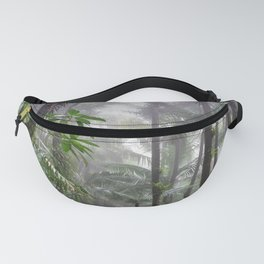 The Cloud forest - before Maria - El Yunque rainforest PR Fanny Pack