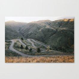 Lookout Mountain Road - Golden, Colorado Canvas Print