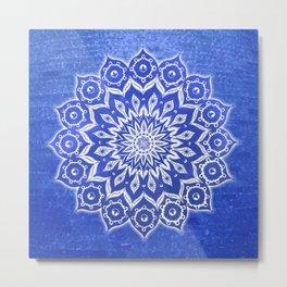 okshirahm, blue crystal Metal Print