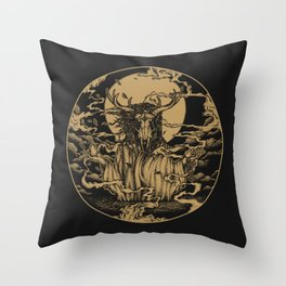DREAMTIME - GOLD Throw Pillow