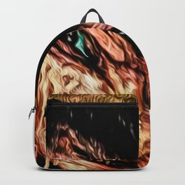 freddy graffiti print Backpack