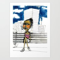 DVD BOX Barrio Art Print