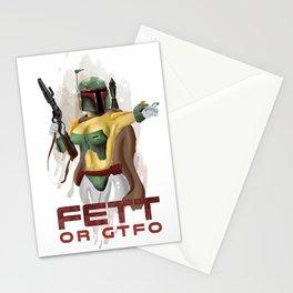 Fett or GTFO Stationery Cards