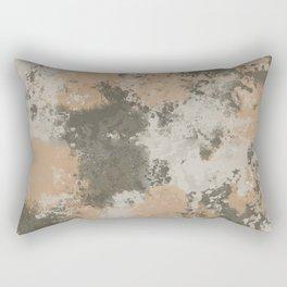 Abstract Mud Puddle Rectangular Pillow