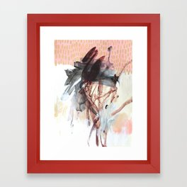 0 9 5 Framed Art Print