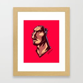 Comics Ibra Framed Art Print