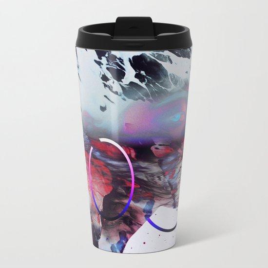 Le regard de Dieu Metal Travel Mug