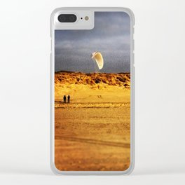 Dune wing Clear iPhone Case