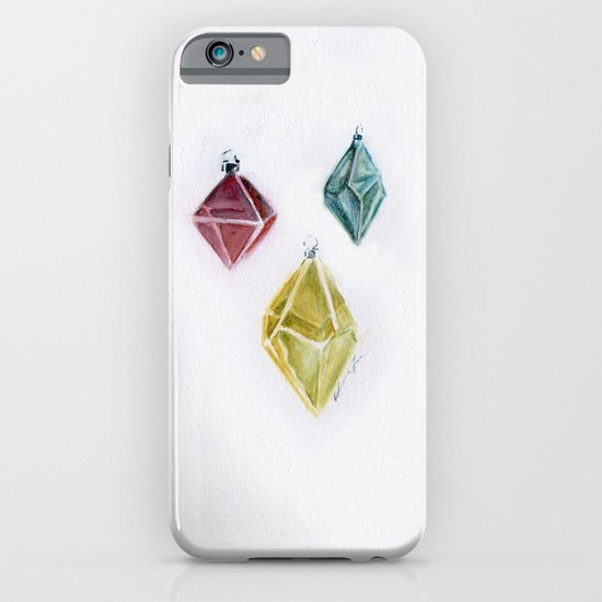 Crystals iPhone & iPod Case