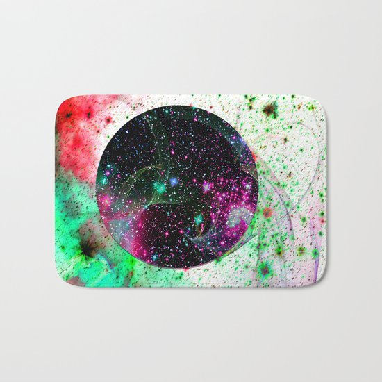 Hole In The Space-Time Fabric Bath Mat