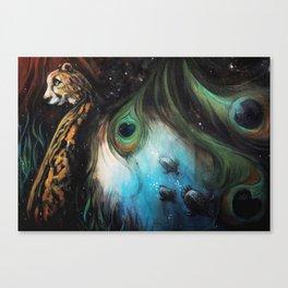 Gaia's Garden 2 Canvas Print