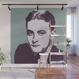 F. Scott Fitzgerald Wall Mural