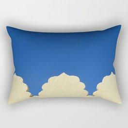 darkblue sky Rectangular Pillow