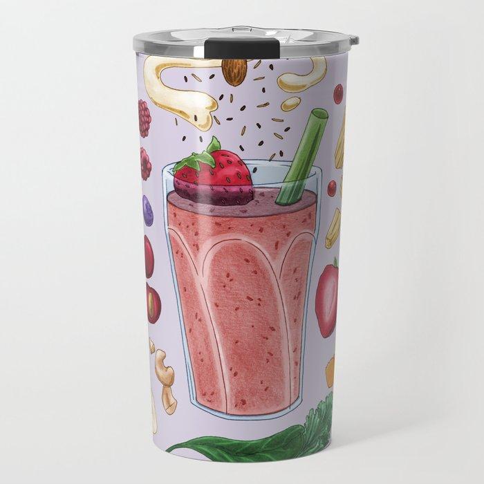 Smoothie Diagram Travel Mug