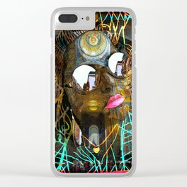 Celsa in the City #120 Clear iPhone Case