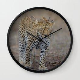 Leopard photo 2 Wall Clock