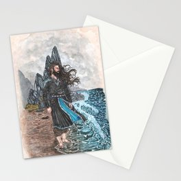 Njord Lord of the tides Stationery Cards