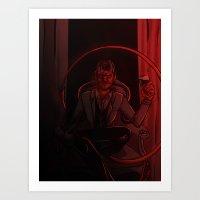 Demonic Seduction Art Print
