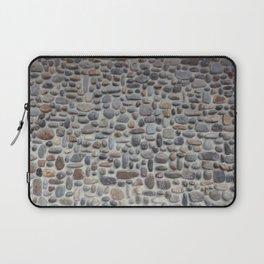 Mosaic Stone Wall Laptop Sleeve