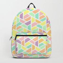 Geometric Jigsaw Backpack
