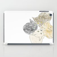kittens iPad Cases featuring kittens by GPM Arts