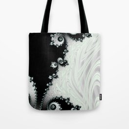 Cascading Satin - Fractal Art Tote Bag