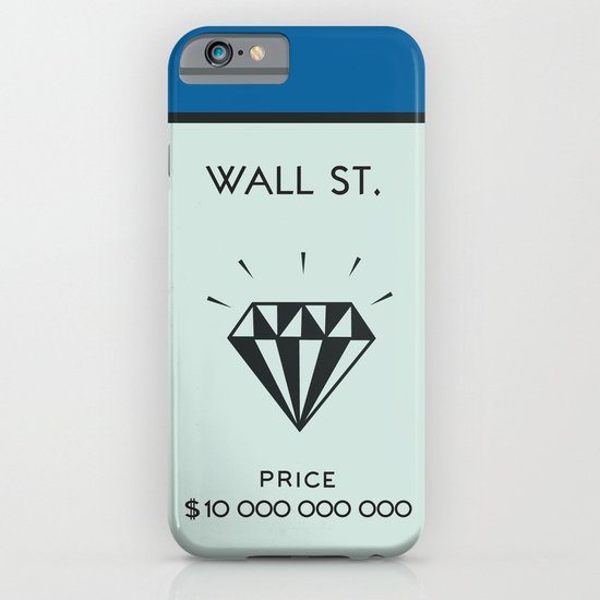 Occupy Wall Street? iPhone & iPod Case