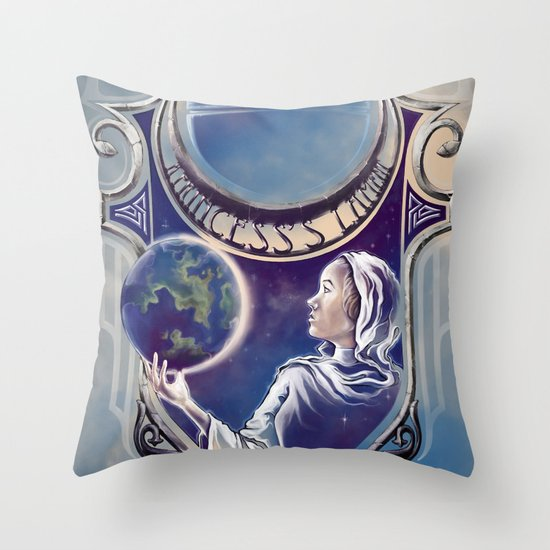 A Princess's Lament Throw Pillow