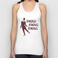 swag Tank Tops featuring Swag Swag Swag by Krissy Diggs