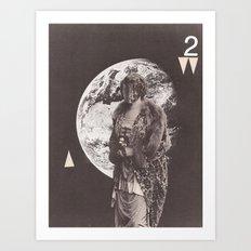 Visitor Queen (no. 2) Art Print