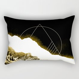 Golden Mountain Rectangular Pillow
