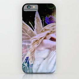 Purple Herbs in the Cosmos iPhone Case
