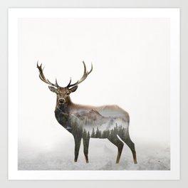 Deer Art Print