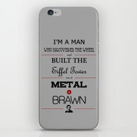 anchorman iPhone & iPod Skins featuring Anchorman by thebuccanear