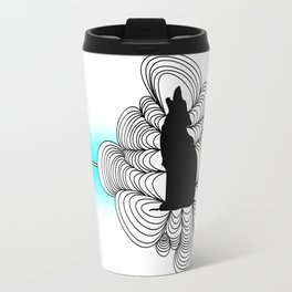 Simple Wolf Travel Mug