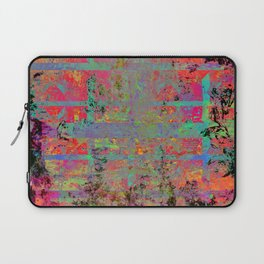 Neon Charred Abstract Laptop Sleeve