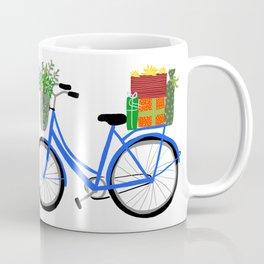 Adorable Christmas Bicycle  Coffee Mug