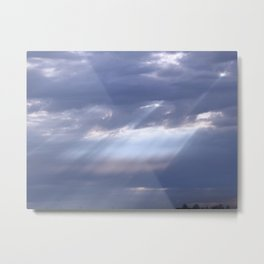 Bless Us O Lord Metal Print