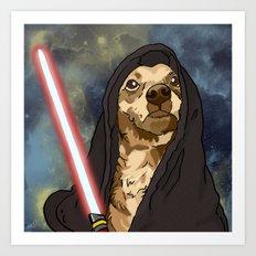 Sith Bowser [FANDOG] Art Print