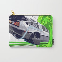 Back to The Future with The Rick Door Portal Carry-All Pouch