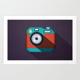Camera 2.0 Art Print