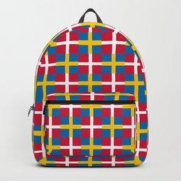 Mix of flag: sweden and denmark Backpack