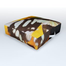 Summer Butterfly Outdoor Floor Cushion