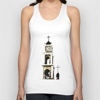 israel Tank Tops featuring St. Peter's Church, Jaffa, Israel by Philippe Gerber
