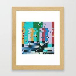 FFFFFFFFFFFFF Framed Art Print