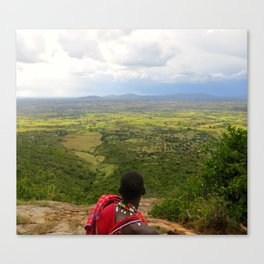 Great Rift Valley Canvas Print