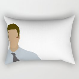 Edward Norton Fight Club Rectangular Pillow