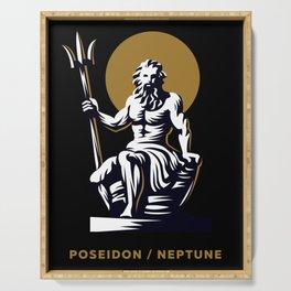 Poseidon / Neptune Serving Tray